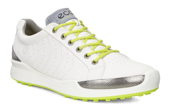 ECCO 남성 골프화 바이옴 하이브리드 하이드로맥스 (WHITE)