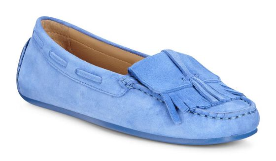 ECCO 여성 로퍼 섬머 목 (BLUE)