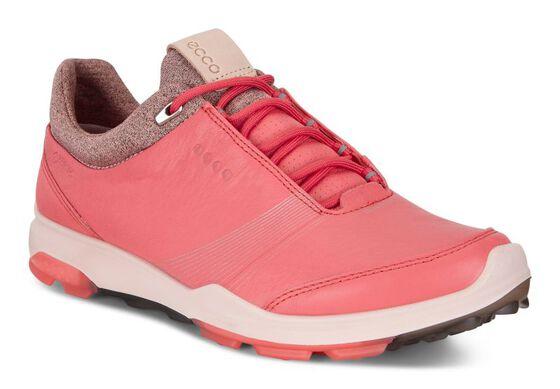 ECCO 여성 골프화 바이옴 하이브리드 3 고어텍스 (RED)